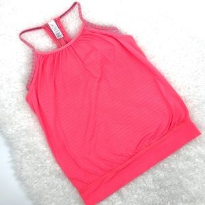 Ivivva Double Dutch Layered Racer Back Tank Top